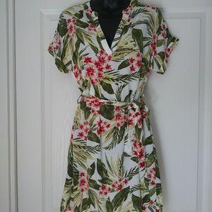 Tropical print Forever21 Dress